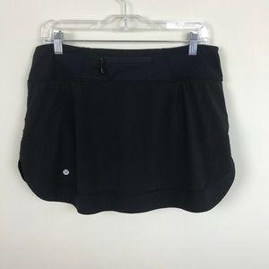 Lululemon Full Stride Skirt In Black